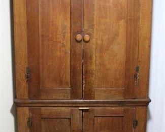 Antique 1800s Corner Cabinet