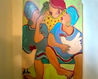 Original Sallie West painting
