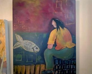 Original painting by Sallie West
