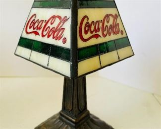 10/  CocaCola™LOT $150 - 7 lamps & toothpick dispenser & book NOW $95
