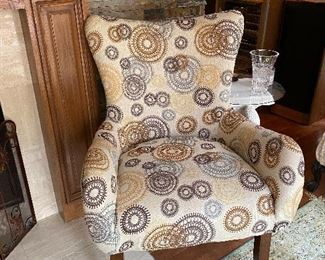 1 of 2 chairs