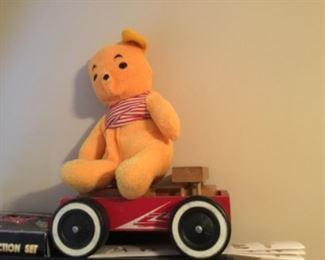 Bear and wagon