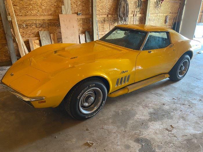 1969 427 corvette stingray does not have original engine has a 454 odometer has 40.141 miles