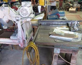 """Craftsman Table Saw--$200                                                                        CC 500N Stone Cutting Saw 115/230 Motor 12"""""""