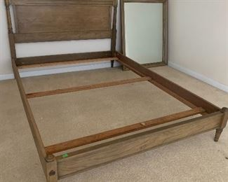 $325- OBO- National furniture queen size bed