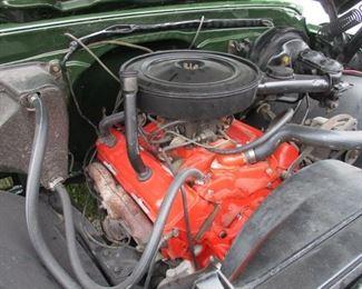 1971 Chev. 3/4 Ton Camper Special 350 engine