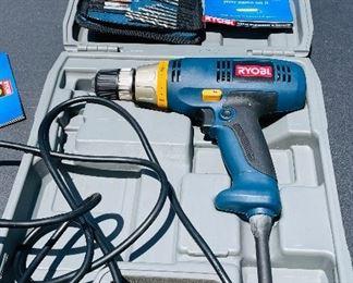 3-Ryobi Electric drill$40