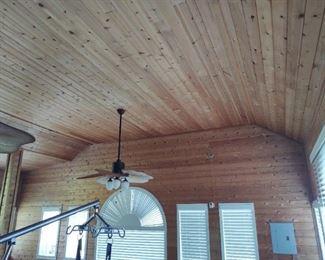 Large room Full Of Cedar Wood
