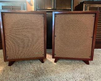 MCM vintage University Stereo Speakers