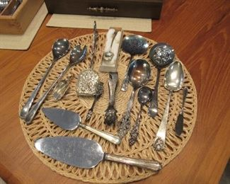 Antique silver - mostly silverplate