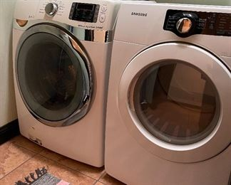 Samsung Washer and Dryer (will be sold as a set)