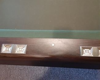 Counter on pool table