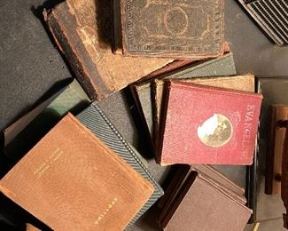 antique hymn books and more