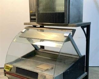 """Located in: Chattanooga, TN MFG Hobart Rotisserie w/ Holding Cabinet Size (WDH) 42-1/4""""Wx44""""Dx82""""H Holding Cabinet- M/N HUV3P, 208V, 60Hz Rotisserie- 60Hz, 208V, Illegible Tag **Sold As Is Where Is**  SKU: A-4"""