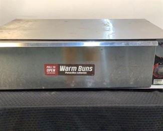 """Located in: Chattanooga, TN MFG APW Wyott Model BW-50 Ser# 10380204098 Power (V-A-W-P) 120V, 50/60Hz, 1Ph, 5A, 600W Bun Warmer Size (WDH) 34-3/4""""Wx24""""Dx10-1/4""""H **Sold As Is Where Is**  SKU: T-8-C Tested-Works"""
