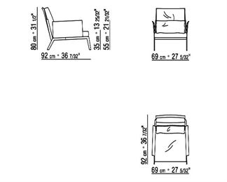 Specs for Happy-hour chair