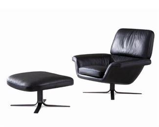 Rodolfo Dordini Minotti Blake-Soft lounge chair & ottoman Advertisement
