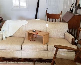 Creamy white sofa