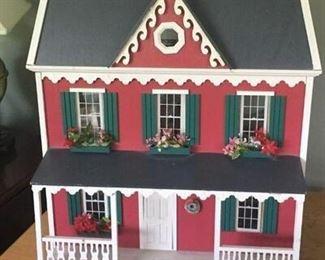 Very nice dollhouse.