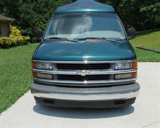 1998 Chevy High Top Conversion Van K1500