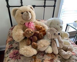$40 All 5 teddy bears plush animals