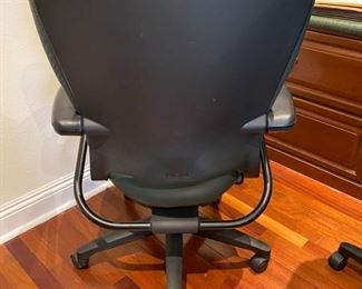 2- $60 green adjustable office chair Two of Two
