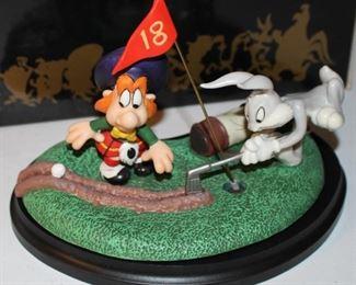 "Goebel Bugs Bunny ""Off Kilter"" figurine w box"