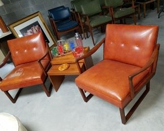 mid century modern, by W.H. Gunlocke Chair Co.