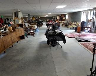 this is a huge space, loaded with great items