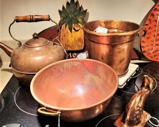 Assorted Copper Items
