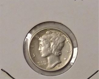 1940 Mercury Dime