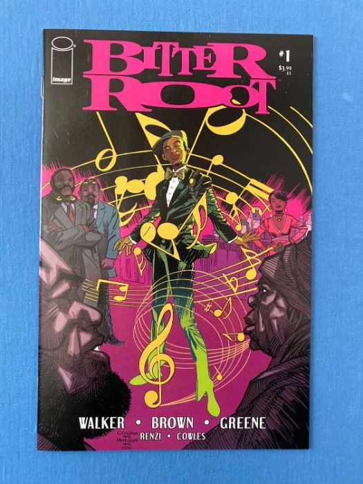 Bitter Root #1 - TV show coming soon! Hard to Find Image comic. First Print- NM condition.