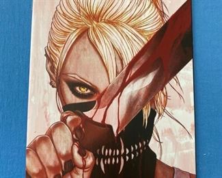 Something is killing the children #1 - very rare variant cover.  First Print. NM condition. Extremely HOT comic book.... TV show coming!