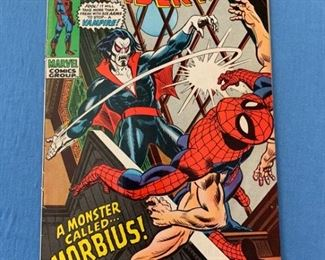 Amazing Spiderman #101 - First appearance of Michael Morbius. Marvel movie coming starring Jared Leto! KEY Bronze age issue. Book is in Fine condition! Currently selling for over $5,000 on other sites.