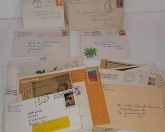 Vintage Stamps & Letters Bag Lot