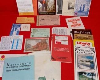Vintage Paper Advertising Lot