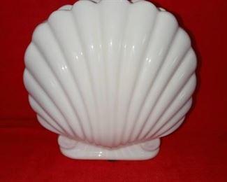 Ceramic Shell Flower Vase