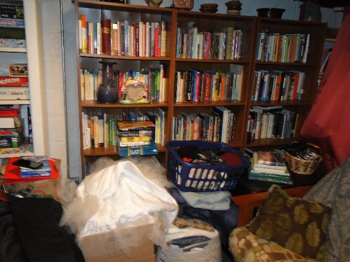 Books Galore, loaded basement