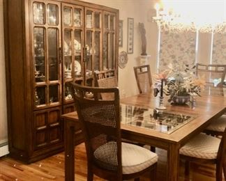 Vintage dining room set with china cabinet