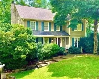 30+ years of memories and treasures in this Tucker home.  We hope to see you Saturday & Sunday.