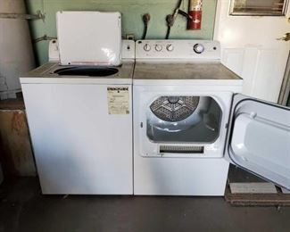 #1002 • General Electric Washer And Dryer