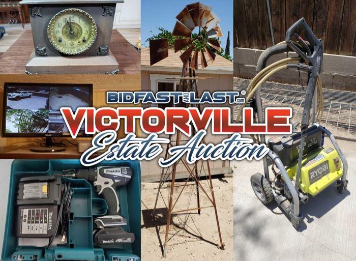 Victorville Estate Auction