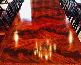 Gorgeous flame mahogany!