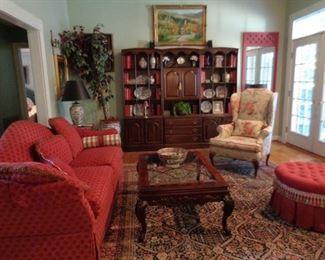 lovely living room furnishings