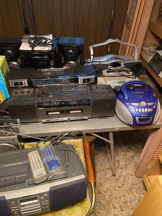 boom boxes radios