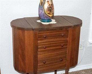 "Vintage ""Martha Washington"" Sewing Cabinet"