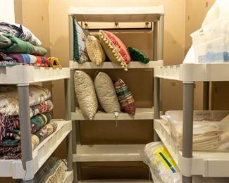 Rugs, pillow, etc.
