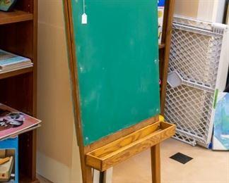 Oak chalk board