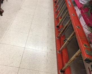 24' Warner extension ladder