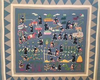 Handmade Hmong Art